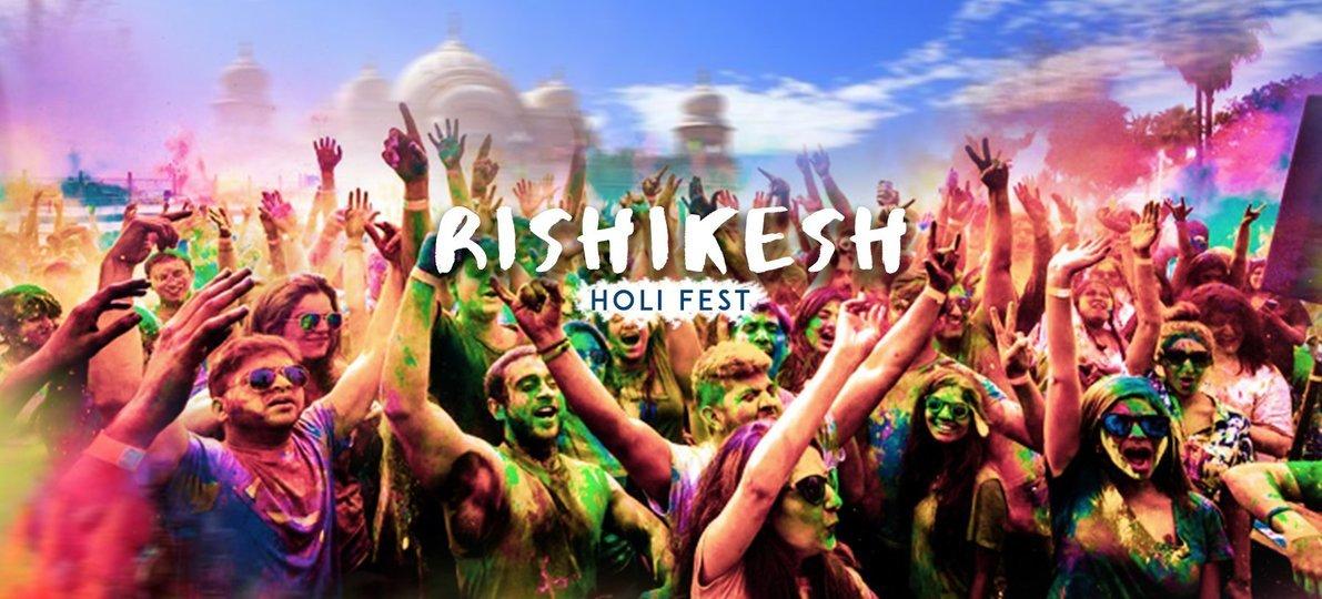 Rishikesh Holi Fest - Tour