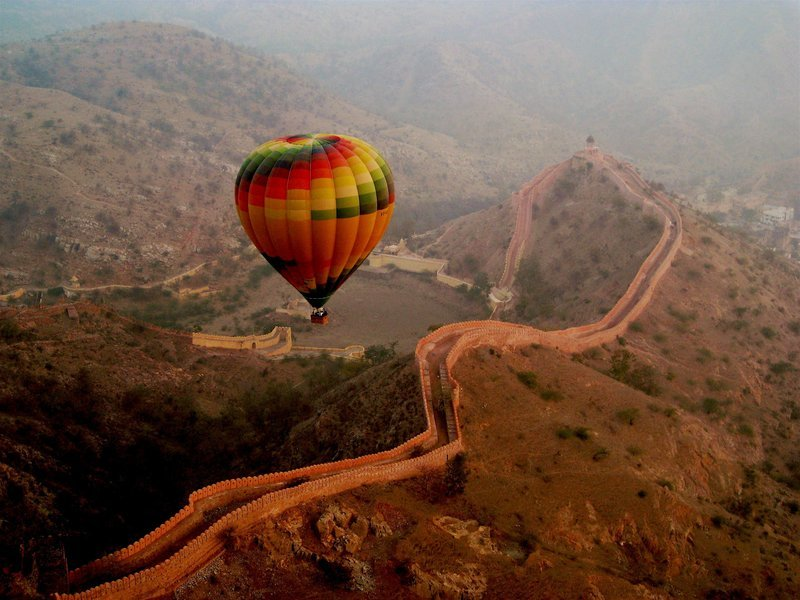 Hot Air Balloon Ride in Jaipur - Tour
