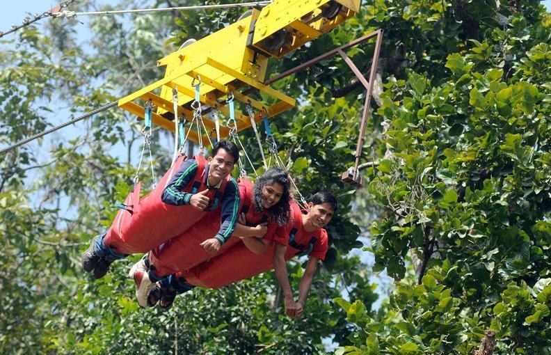 The Flying Fox in Rishikesh - Tour