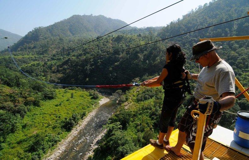 The Giant Swing in Rishikesh - Tour