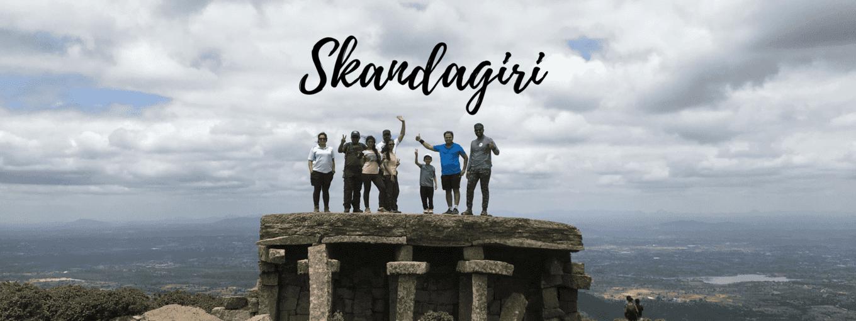 Trek to Skandagiri - Tour