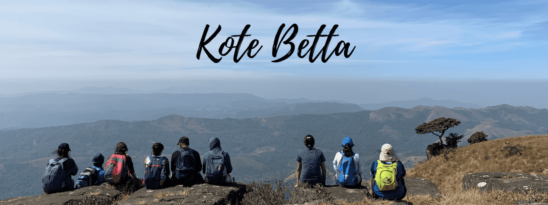 Trek to Kote Betta - Tour