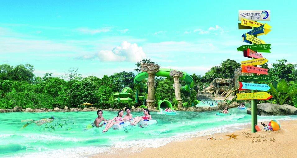 Adventure Cove Waterpark Ticket - Tour