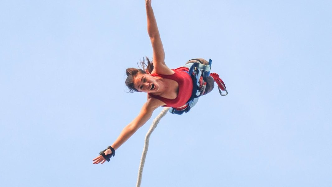 AJ Hackett Sentosa Bungy Jump in Singapore - Tour