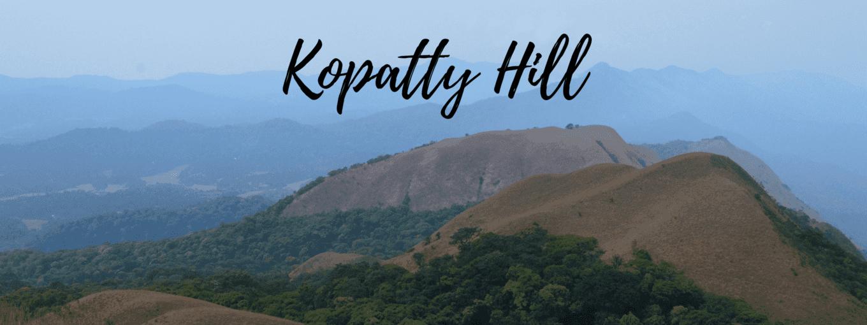 Trek to Kopatty Hill - Tour