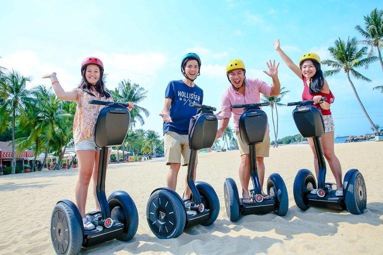Marina Bay Mini Segway Guided Tour - Tour