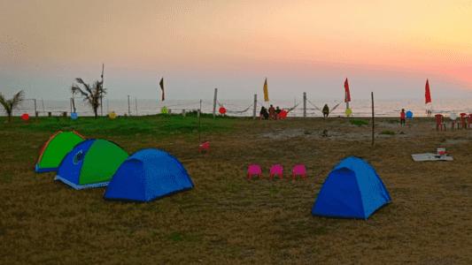 Alibaug Beach Camping