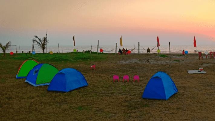 Alibaug Beach Camping   Revdanda Beach Camping - Tour