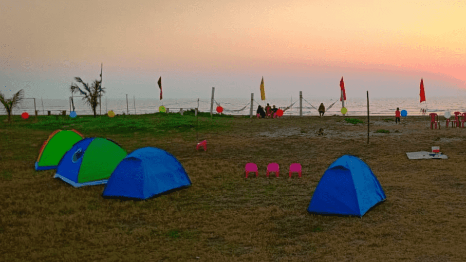 Alibaug Beach Camping | Revdanda Beach Camping - Tour