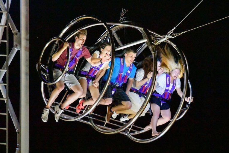 GX-5 Extreme Swing Experience in Singapore - Tour
