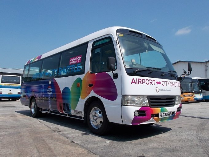 Shared Changi Airport Transfers (SIN) for Singapore Hotels - Tour