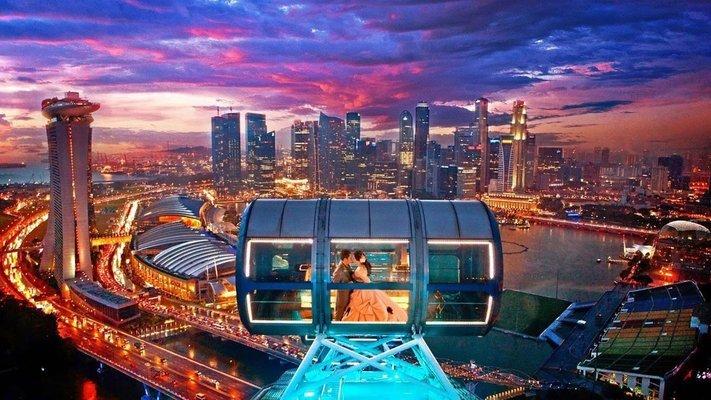 Singapore Flyer Flight - Tour