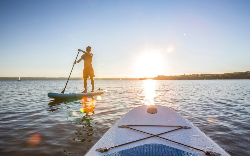 Stand Up Paddle Boarding in Dubai - Tour