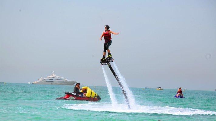 Jetovator Experience in Dubai - Tour