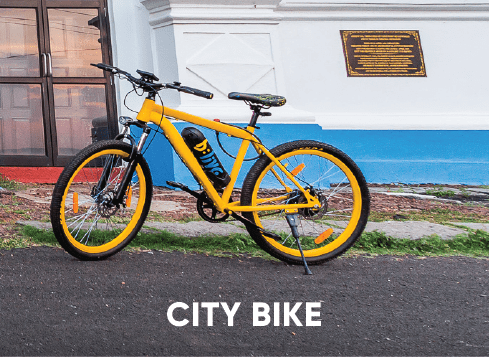 Electric Bike for City